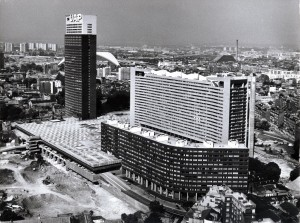 Le complexe immobilier Charras - Courbevoie - 1969